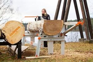 Logosol F2+ 5m Sawmill  Portable Sawmill