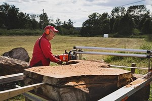 Logosol Big Mill Wide Slabber 56 inch  Portable Sawmill