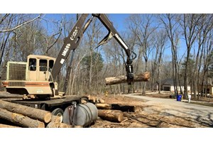 2004 Barko 495  Log Loader Knuckleboom