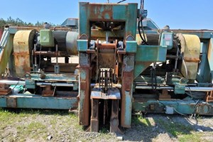 2001 USNR CANTER-SAWING LINE  Chipping Canter