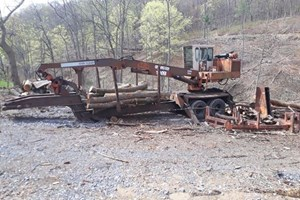 1993 Barko 160  Log Loader Knuckleboom